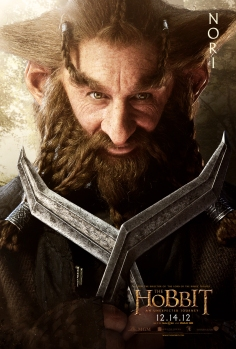 The Hobbit dwarfes poster-nori