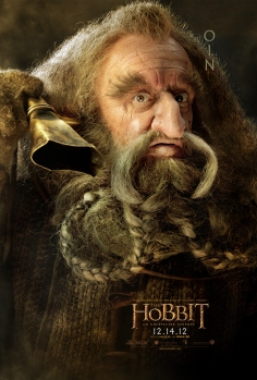The Hobbit dwarfes poster-oin