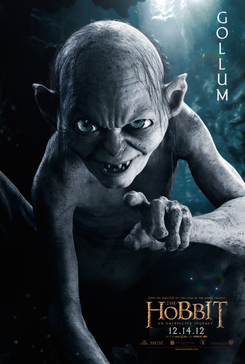 The Hobbit protagonists poster-gollum