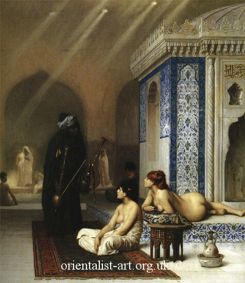 Jean Leoan Gerome101 pool in harem