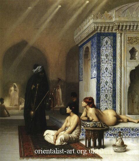 Jean Leoan Gerome101 pool in harem
