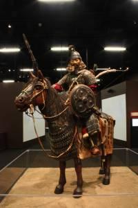 Mongol Warrior rustning exhibit