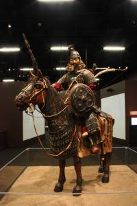Mongol Warrior rustning exhibit