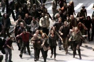 the Walking dead city zombies