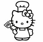 Hello Kitty chef kock