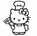 Hello Kitty chef kock