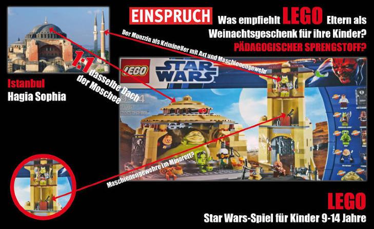 Lego Starwars Jabba the Hut Hagia Sophia