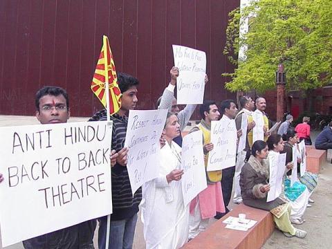 Melbourne Hindu Protest