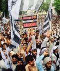 Pakistan muslim protest offended kränkt muhammad film