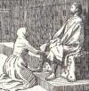 Respekt i Snorre Sturlassons Heimskringla - Hildur ber konung Harald om nåd för sin son Gånge-Rolv
