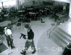 columbine surveillance video capture1 school shooting skolmassaker
