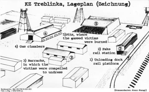 Plan Treblinka Bundesarchiv_Bild_183-F0918-0201-001,_KZ_Treblinka,_Lageplan_(Zeichnung)_II