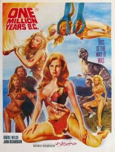 Raquel Welch one million years poster (5) ultimate fur bikini päls