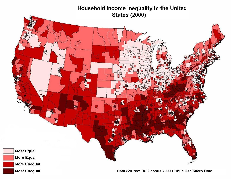 USA_income_inequality 2000-2006 inkomstskillnader