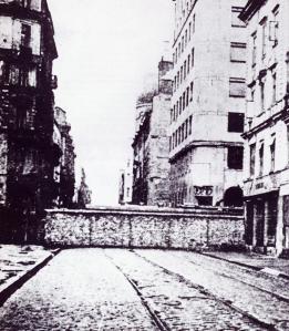 warsaw ghetto wall mur förintelsen
