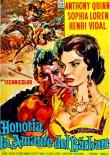 Sophia Loren Attila poster spanish
