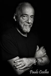 Paulo Coelho halfportrait