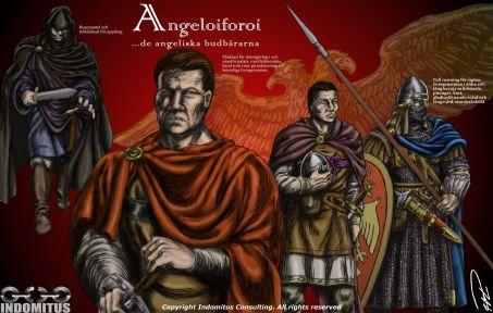"""Angeliaforoi, de """"Angeliska Budbärarna"""", kejserliga spioner och mördare"""