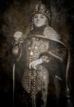 Byzantine imperial garb crown mantle bysantinsk kejserlig dräkt medeltida