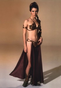 carrie-fisher-bikini return f the jedi