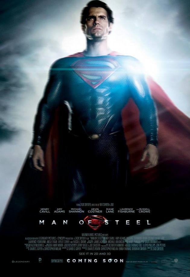 Man of Steel Superman Stålmannen 2013 man-of-steel-superman-poster 1663b0dd0d85b