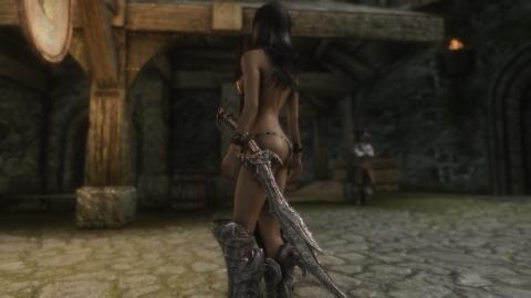 Skyrim thong armor