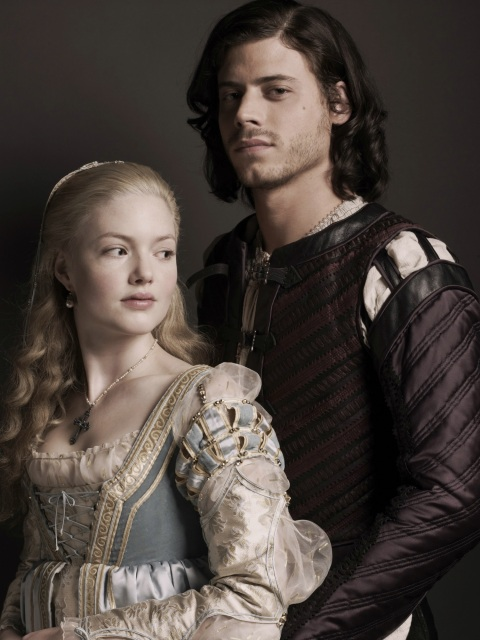 The Borgias Lucrezia & Cesare Borgia Holliday Grainger & Francois Arnaud 1500 2000