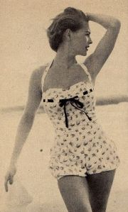 1950 bathing suit baddräkt_1