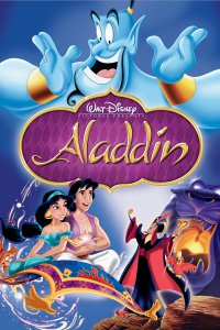 Aladdin 1992 Movie Poster Jafar princess Jasmine