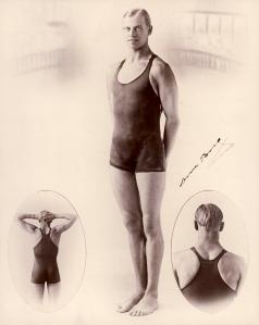 Arne-Borg-Swim-World-Record-holder-in-the-1920s