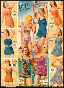 Baddräkter 1939-SWIMSUITS