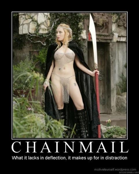chainmail bikini