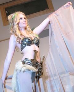 Exotic fantasy armor bikini