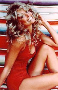 Farrah Fawcett 1970s bathing suit_1