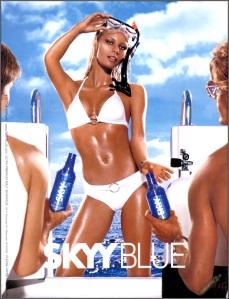 Skyy Blue bikini ad