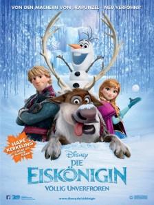 Frost frozen Eiskönigin german poster