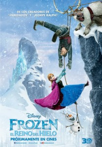 Frost frozen poster Portugal
