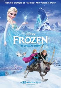 Frost frozen_movie poster
