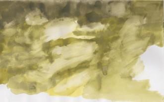 molniga skyar vattenfärg