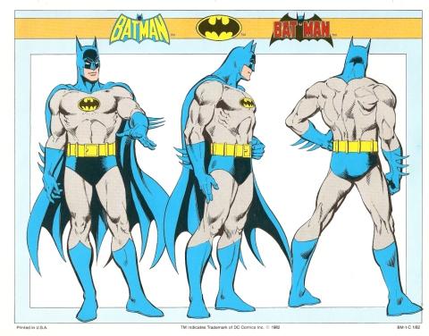 Batman svingar över Gotham i baddräkt