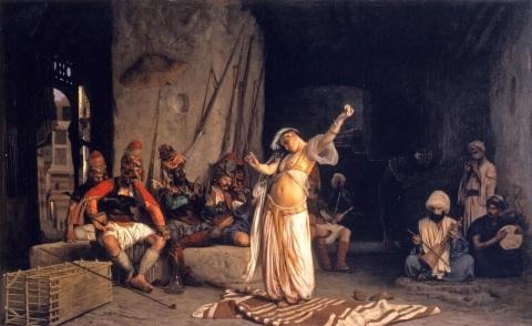 Dance of the Almeh Jean Leon Gerome