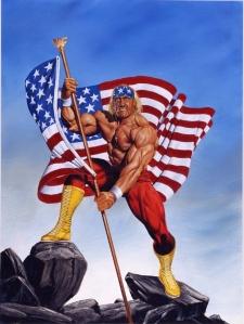 Hulk Hogan American Flag