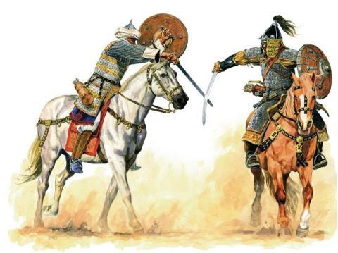 mamluk vs mongol