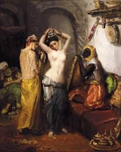 Theodore Chasseriau - Le Harem, 1851