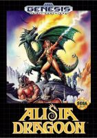 Alisia Dragoon metal bikini game cover