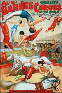 Barnes Quality Circus of the World 1930s