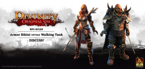 Divinity Original Sin Armor bikini vs Walking Tank
