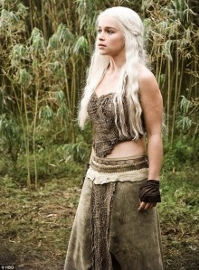 Emilia Clarke Game of Thrones Daenerys Targarien