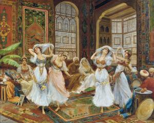 Harem Dancers by Fabio Fabbi