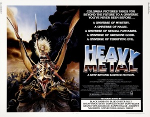 heavy metal-halfsheet-movie-poster